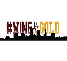#Wine&Gold - Cleveland Cavaliers Photographic Print