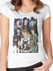 Once Upon A Villain Women's Fitted Scoop T-Shirt