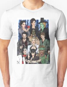 Once Upon A Villain Unisex T-Shirt