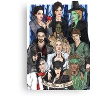 Once Upon A Villain Canvas Print
