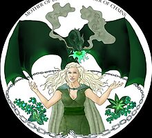 Daenaries Targaryen: Green by miss0aer