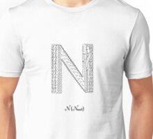 N is for Newt Unisex T-Shirt