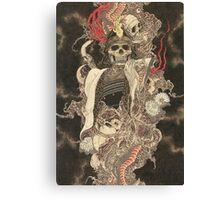 Skull SHOGUN Canvas Print