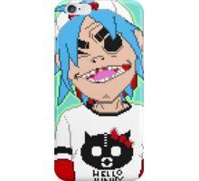 Gorillaz 2D Pixel Art iPhone Case/Skin