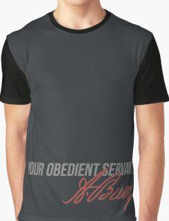 Prepare to bleed, good man Graphic T-Shirt