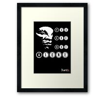 Face of BOE: You are not alone Framed Print