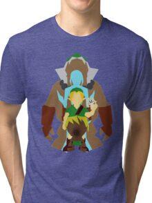 Majora's Mask: Mask Transformations. Tri-blend T-Shirt