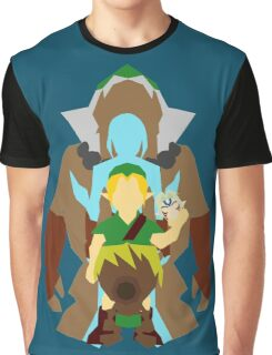 Majora's Mask: Mask Transformations. Graphic T-Shirt