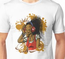 Music girl Unisex T-Shirt