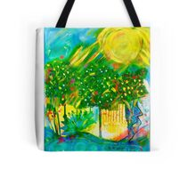 Summer in the Park Tote Bag