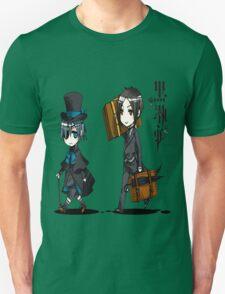 Black Butler Travel Chibis Unisex T-Shirt