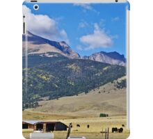 Home On The Range - A Westcliffe Ranch iPad Case/Skin