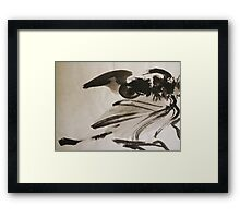 Ming's Dragon Framed Print