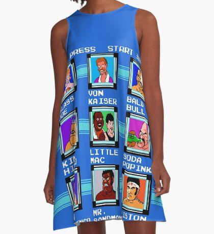 Mega Punch A-Line Dress