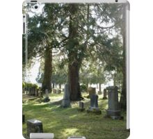 Fair Oaks Cemetery iPad Case/Skin