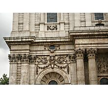 Engaged Columns and Relief Sculptures Photographic Print