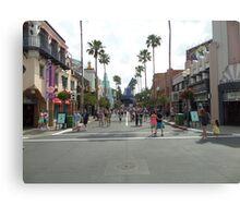 Hollywood Studios  Canvas Print