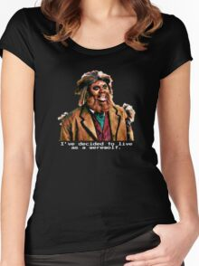 Titus Andromedon, Werewolf Women's Fitted Scoop T-Shirt