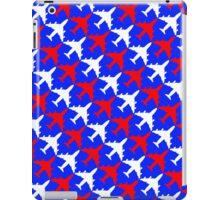 Patriotic Plane Pattern iPad Case/Skin