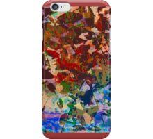 Colorful Leaf Inversion 2 iPhone Case/Skin