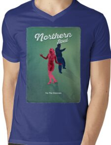 Northern Soul - for the dancers block Mens V-Neck T-Shirt
