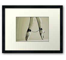BDSM love - dance for me Framed Print