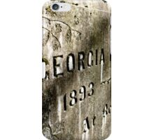 Georgia iPhone Case/Skin