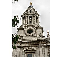 Tower Facing North on the West Side of St Paul's Photographic Print