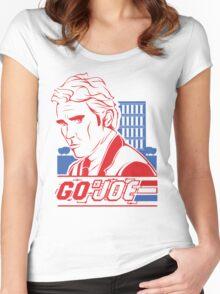 Go Joe (Macmillan) T-Shirt Women's Fitted Scoop T-Shirt