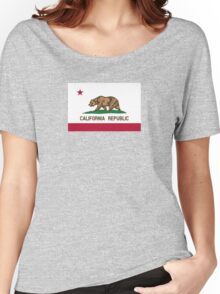 Flag of California  Women's Relaxed Fit T-Shirt