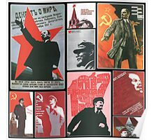 URSS - Cult of personality Poster