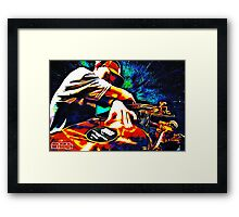 TURNTABLISM - THE DYING ART (of DJing) Framed Print