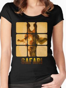 Safari Africa Women's Fitted Scoop T-Shirt