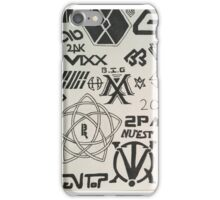 Kpop Boy Group Compilation iPhone Case/Skin