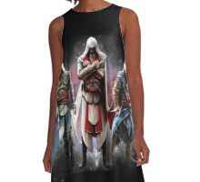 ASSASSIN A-Line Dress