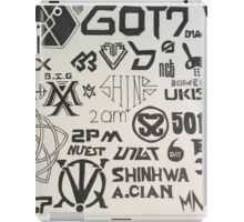Kpop Boy Group Compilation iPad Case/Skin