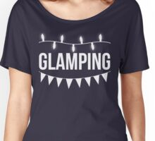 Glamping T Shirt Women's Relaxed Fit T-Shirt