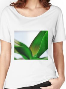Orchid Leaves Women's Relaxed Fit T-Shirt