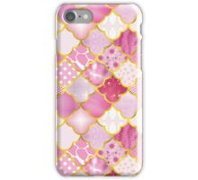Moroccan Scallops in Pinks iPhone Case/Skin