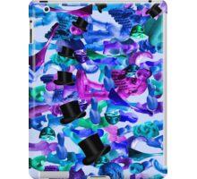 sileni blu iPad Case/Skin