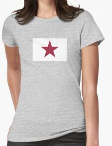 1836 Lone Star Flag of California Womens Fitted T-Shirt