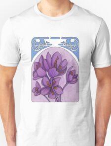 Art nouveau. Saffron. Unisex T-Shirt