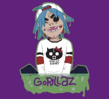 Gorillaz 2D Pixel Art by Sam Smith