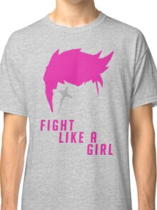 Zarya - Fight Like A Girl Classic T-Shirt