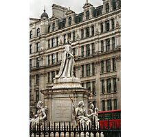 Statue of Queen Anne Photographic Print