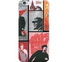URSS - Cult of personality iPhone Case/Skin