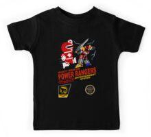 8-bit Power Rangers Kids Tee