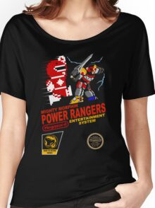 8-bit Power Rangers Women's Relaxed Fit T-Shirt