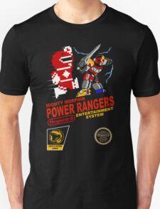 8-bit Power Rangers Unisex T-Shirt