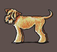 Soft Coated Wheaten Terrier One Piece - Short Sleeve